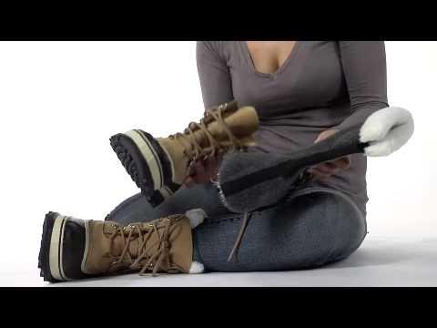 701d78fdf4f77 Sorel Women's Caribou Snow Boot - YouTube