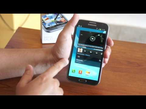 Samsung Galaxy Note 2 Completo análisis en español