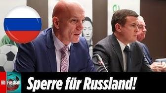 4 Jahre Sport-Sperre für Russland | Jetzt keine Spiele in Russland bei der EM?
