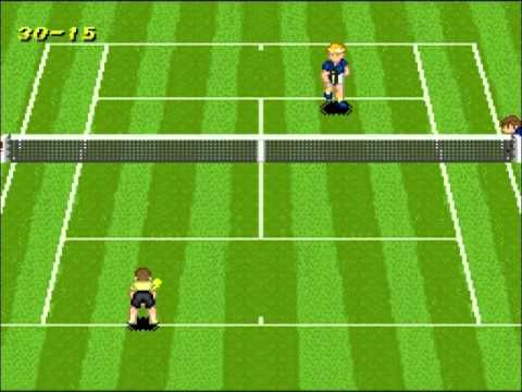 rodaumm vs Nev - SNESOT Super Tennis Wimbledon 2011 - Final