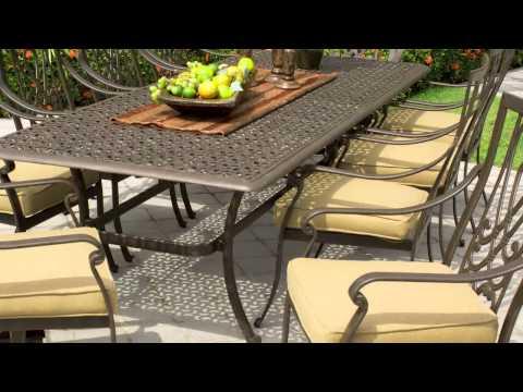 Saratoga 11-piece Patio Dining Collection