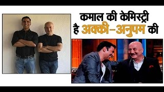 EXCLUSIVE INTERVIEW with Anupam Kher about his chemistry with Akshay Kumar