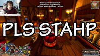 Dungeon Defenders Stream 2 P1 Highlights! King Of Hiatus Edition!