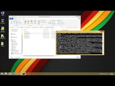 Cocos2d-x v2 Setting Up An Android Project On Windows