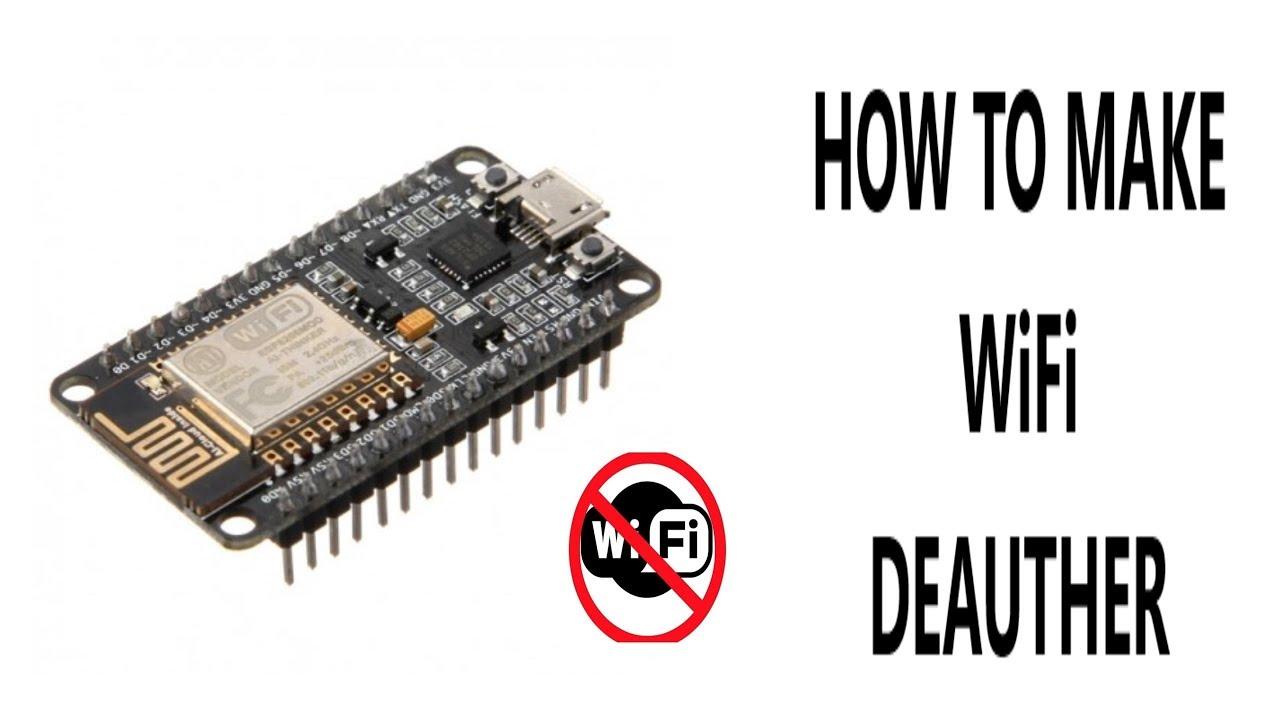 How to make Wifi Jammer using Node MCU ESP8266