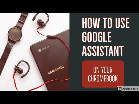 How to Use Google Assistant on Chromebooks