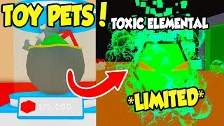 *NEW* TOY LAND AND TOY PETS UPDATE IN BUBBLE GUM SIMULATOR!! (Roblox)