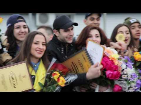 Армяне Красноярска встречают лауреатов I степени фестиваля Hayordik 2017 – Ансамбль «Армения»