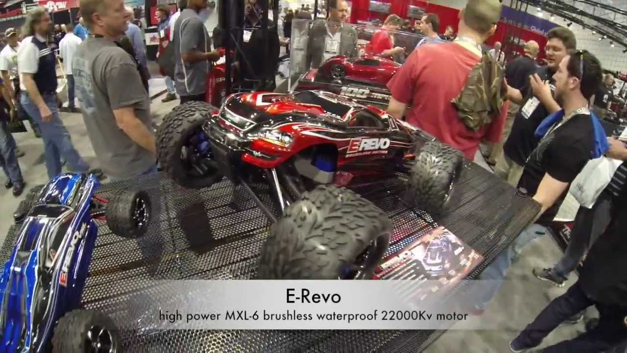 Traxxas E Revo Rc Car Sema Show Las Vegas Youtube