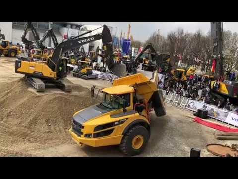 Volvo Equipment Show At Bauma 2019