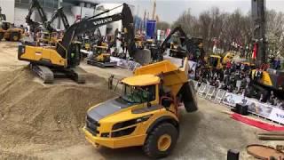 Volvo Equipment Show At Bauma 2019