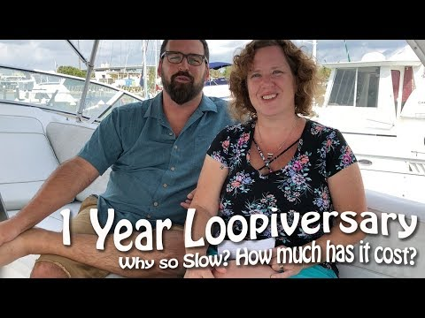 Our One Year 'Loopiversary'! Why So Slow? How Much Has It Cost?   Boating FAQs