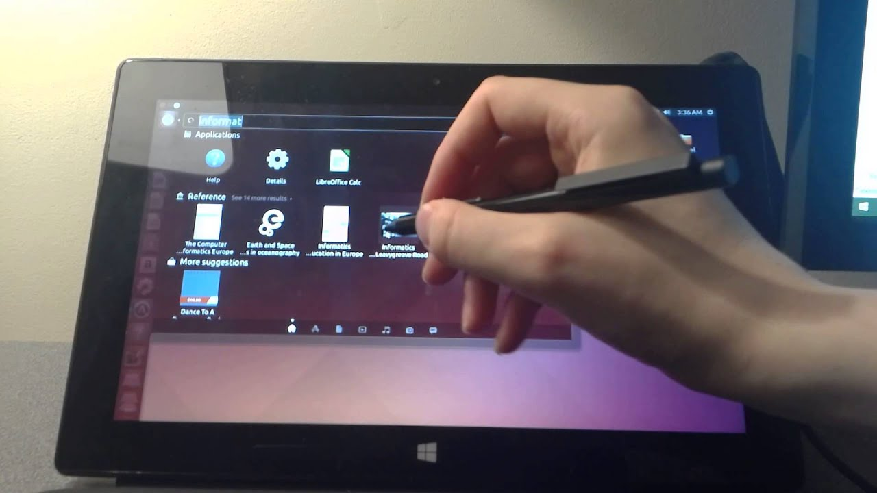 how to make a dell link on linux