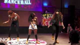 ENOUGH preselection performance @ Streetstar DANCEHALL battle 2013