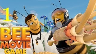 "Bee Movie Game - The Voice of Comedy ""Jerry Seinfeld"" Walkthrough part 1 In 1080p"