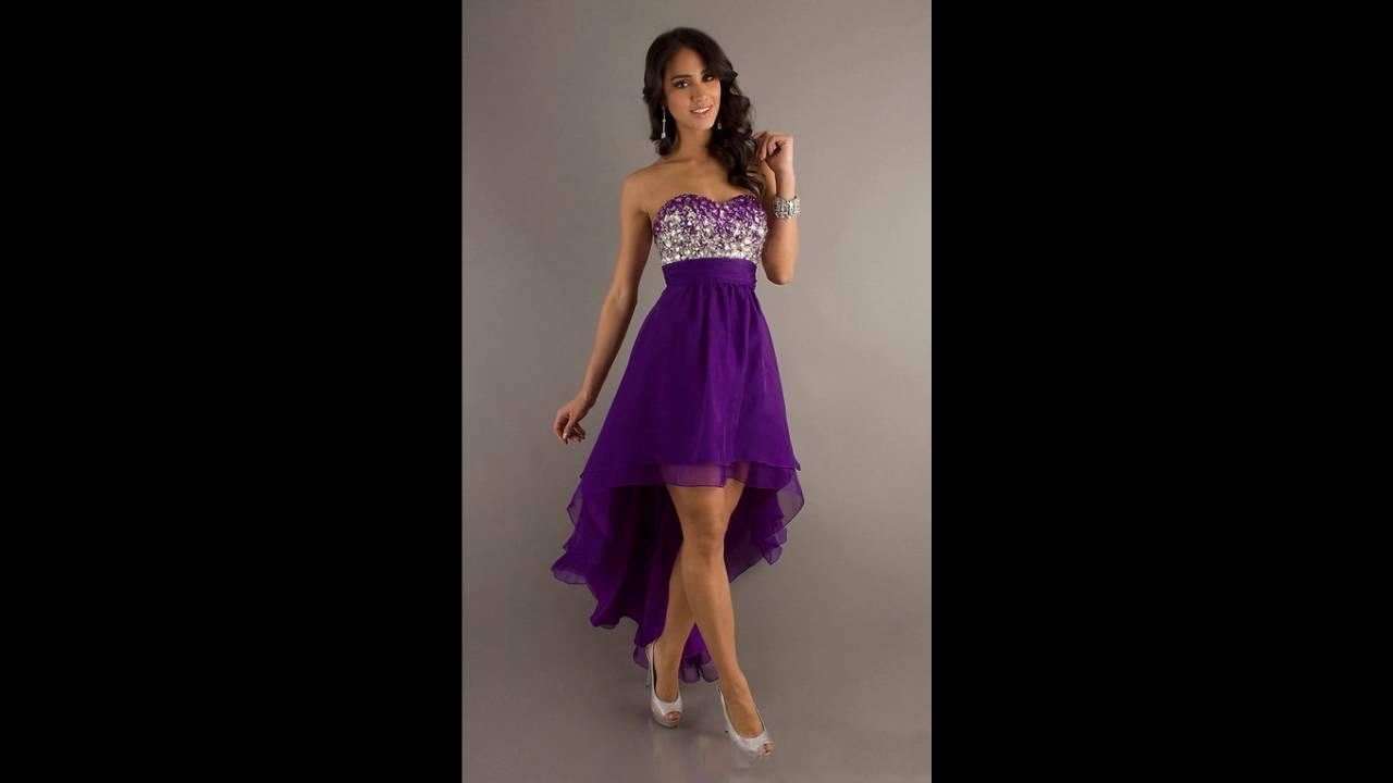 Modelos de vestidos para una fiesta