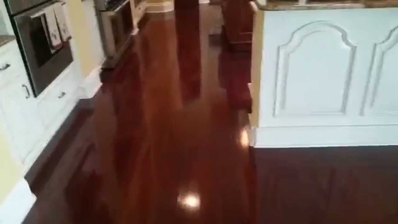 Floor DoctorSaTX Wax Job On New Type Of Plastic Floorslooks Like - Waxing floors jobs