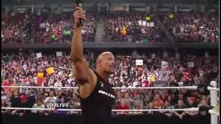 WWE The Rock Concert feat.