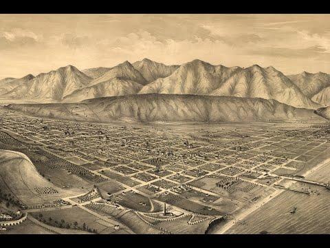 Santa Barbara California History and Cartography (1877)