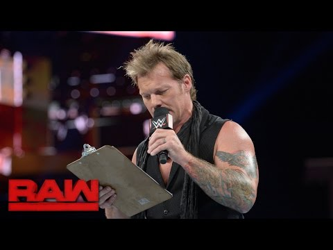 "Chris Jericho unveils ""The List of Jericho"": Raw, Sept. 19, 2016"