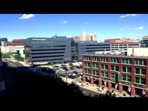 Check out how much Grand Rapids, MI skyline changed in just a year!