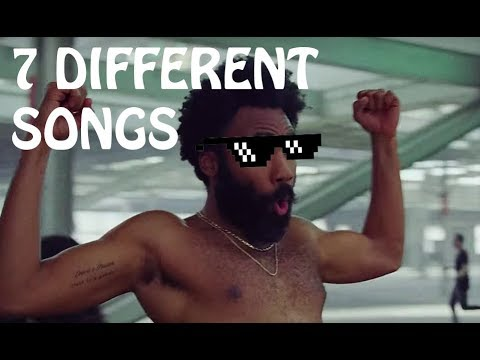 This is America, but with 7 DIFFERENT SONGS