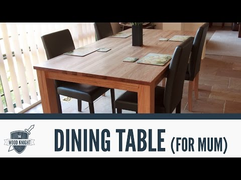 054 - Tasmanian Oak Dining Table (for mum)