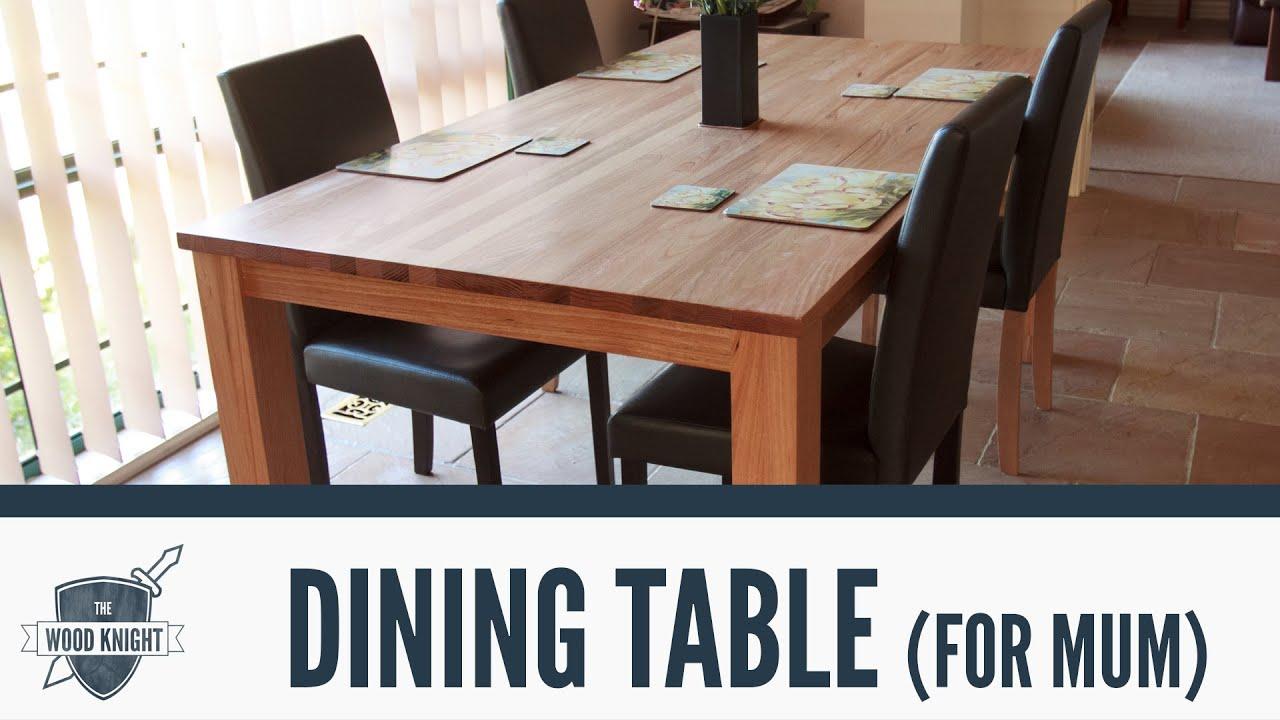 054 Tasmanian Oak Dining Table for mum