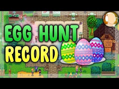 Stardew Valley - EGG HUNT RECORD | 14 eggs