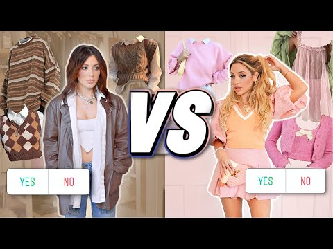 Who has the Better Fall 2021 Style? SISTER vs SISTER