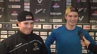 A-nuorten kausikatsaus: Jesse Hallikas ja Matias Mäntykivi