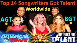 Top 14 Best Singer Songwriters Got Talent Auditions! America
