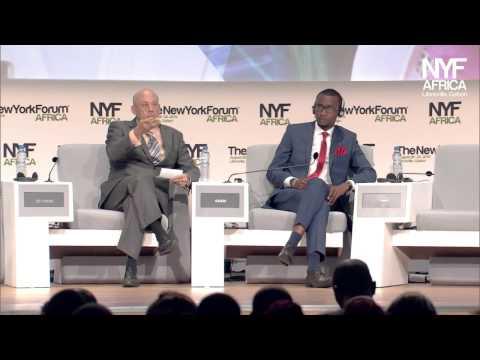 New York Forum Africa 2015 Future Flash with Barclay Paul OKARI, social entrepreneur