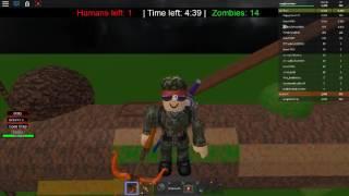 Roblox Humans vs. Zombies Parkour Montage