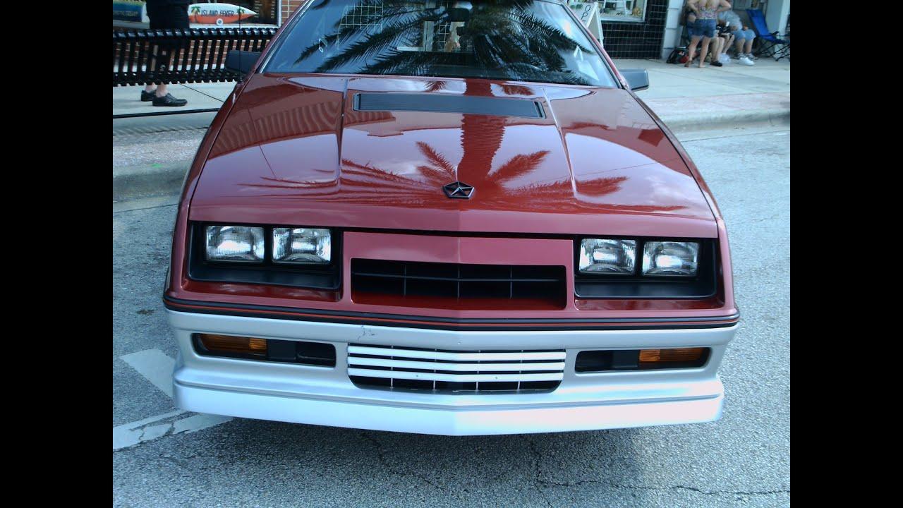 1984 Dodge Daytona Turbo Z MaroonSlvr NSmyr052212 - YouTube