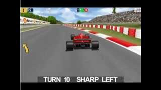 Power F1 PC Gameplay - Berger at Estoril