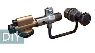 Как сделать паяльник для ПВХ труб из газовой горелки и еще две самоделки. Стройхак.