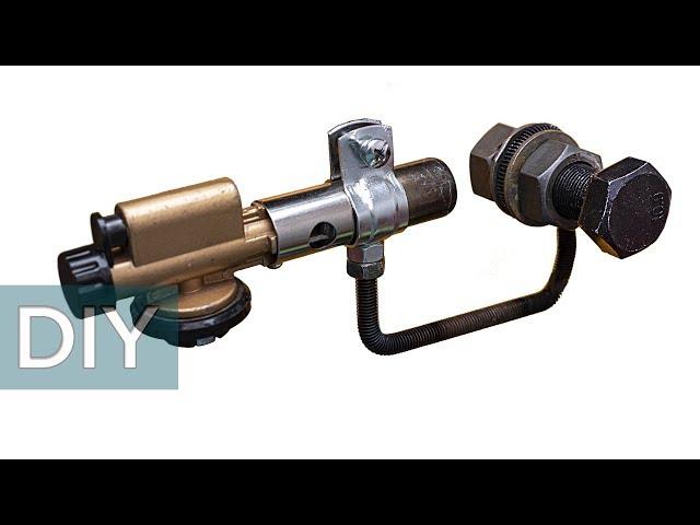 Как сделать паяльник для ПВХ труб из газовой горелки и еще две самоделки