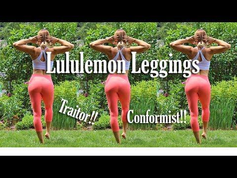 Zero Waste/Thrift Shop Lululemon Leggings | Outdoor Thigh Exercises