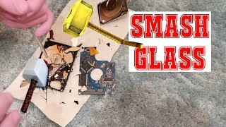 HARD SMASH GLASS Apple Hard Drive