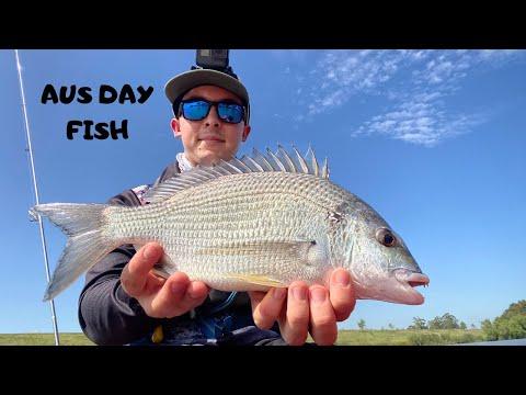 Australia Day Fish At Morpeth