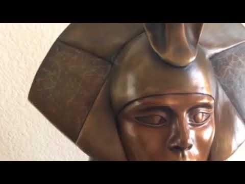 Egyptian High Priestesses Sculptures