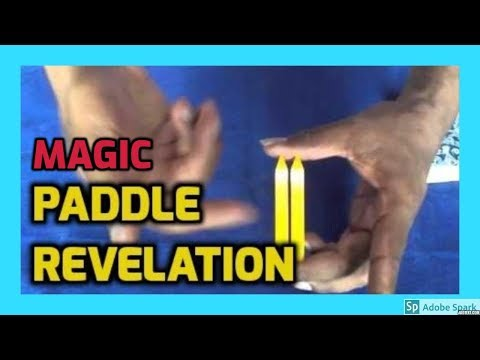 MAGIC TRICKS VIDEOS IN TAMIL #464 I Paddle Revelation @Magic Vijay