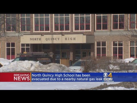 North Quincy High School Dismissed After Nearby Gas Leak