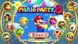 Mario Party 8 - Gameplay Tablero