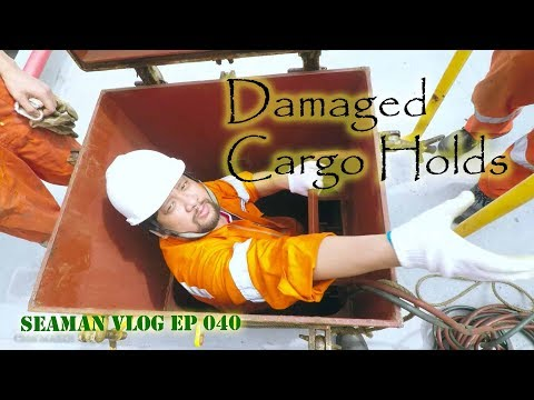 We Repaired the Damage in the Cargo Hold   Seaman VLOG ep 040