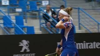 Svetlana Kuznetsova - Viktoriya Tomova Maçının Özeti