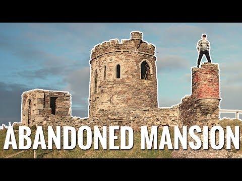 Abandoned Mansion On Remote Scottish Island