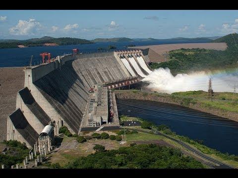 Resultado de imagen para La represa hidroelectrica del Guri