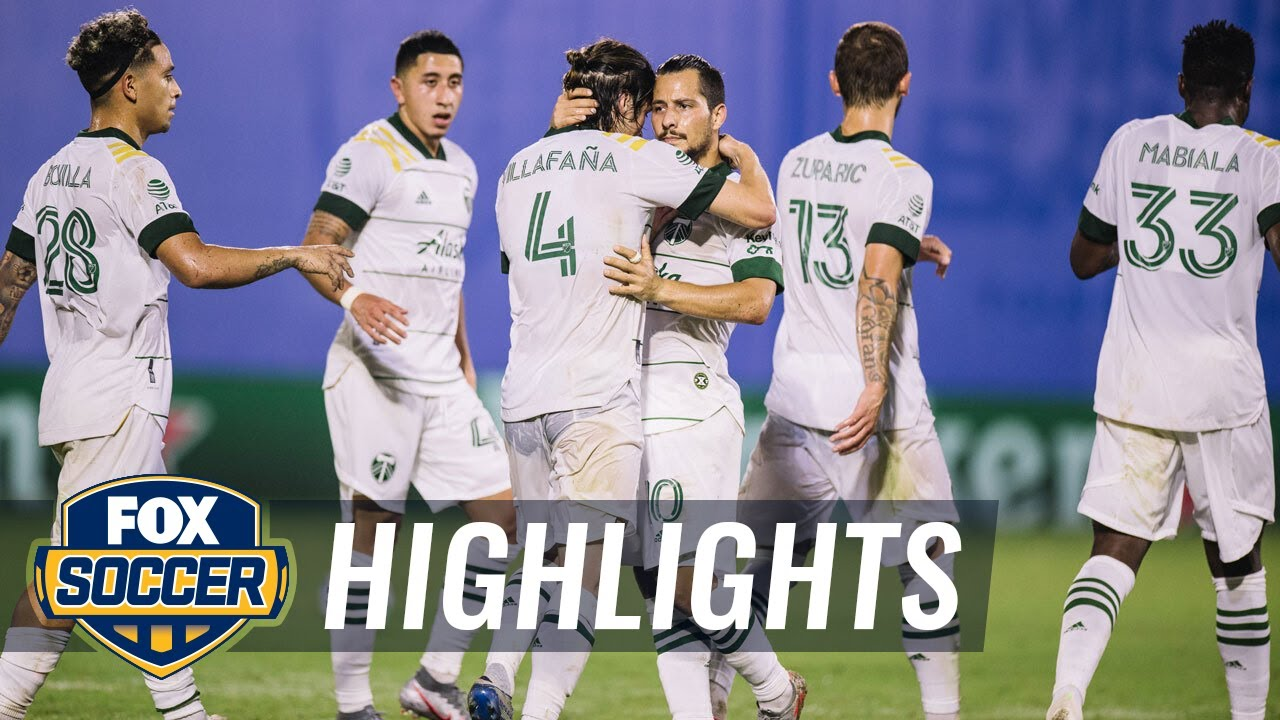 Valeri leads Portland past NYCFC  3-1, Timbers advance to semifinals | 2020 MLS Highlights
